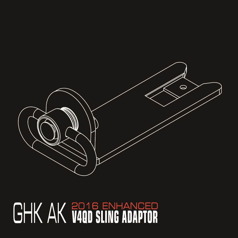 NORTHEAST Airsoft - GHK AK GBB V4QD SLING ADAPTOR